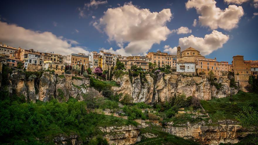 Cuenca, en Castilla-La Mancha. Foto por Mariluz Rodríguez, Flickr.