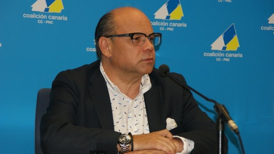 José Miguel Barragán, en la comparecencia de este lunes