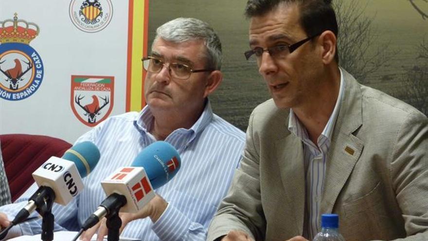 Presidentes de Aproca y de la Federación de Caza de Castilla-La Mancha / Foto: Aproca