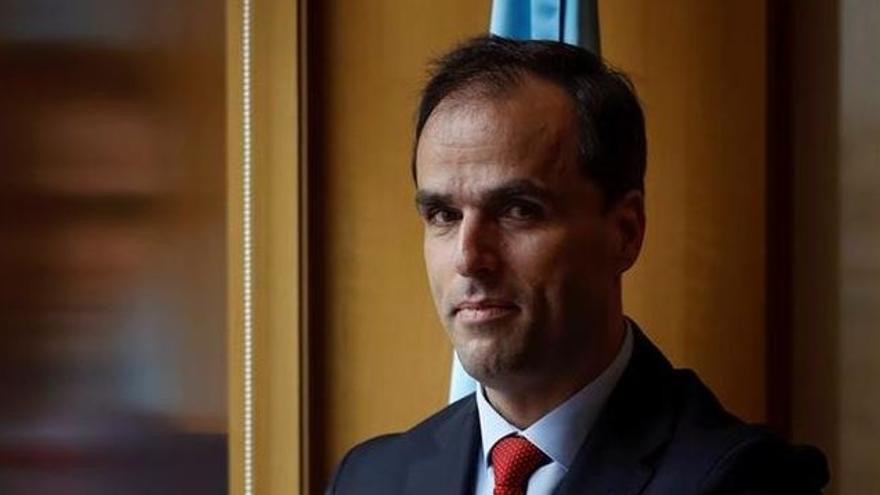 Javier Ramos, rector de la URJC.