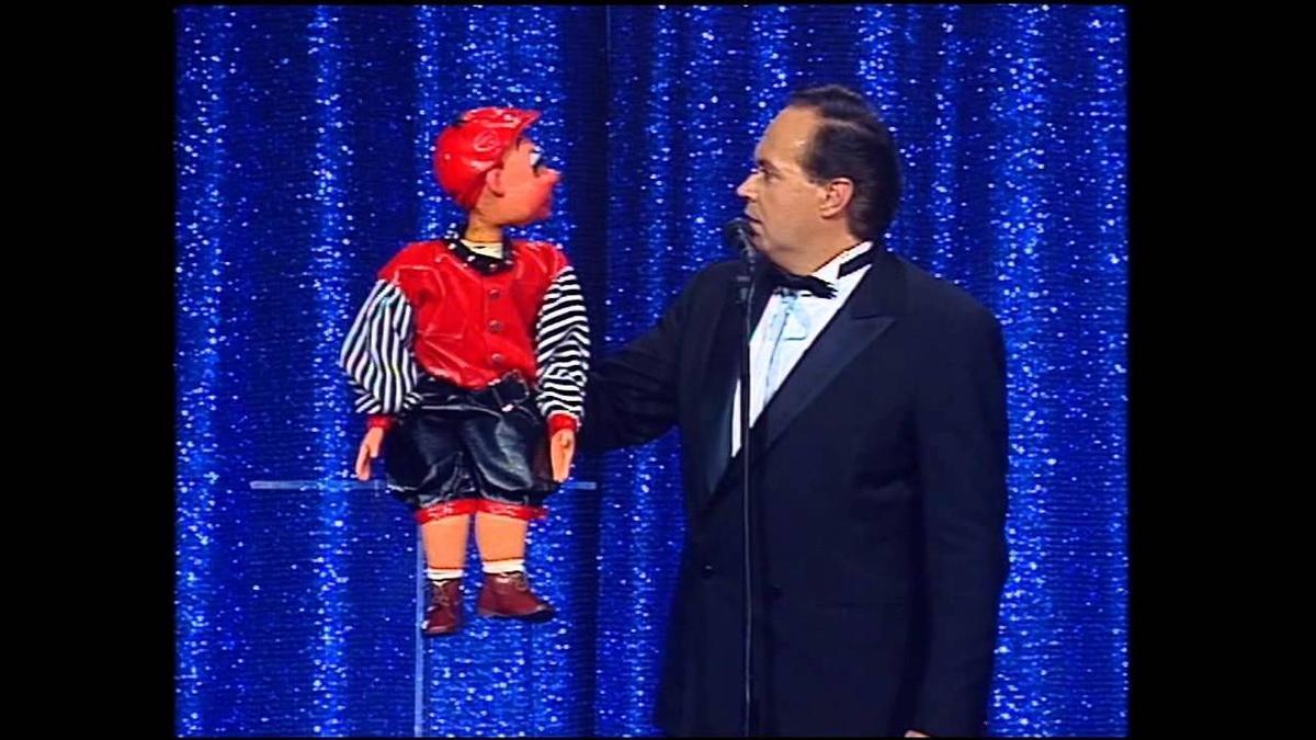 Jose Luis Moreno con 'Monchito'