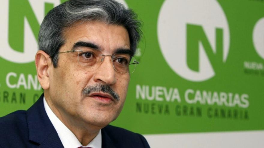 Román Rodríguez, líder de Nueva Canarias y diputado autonómico