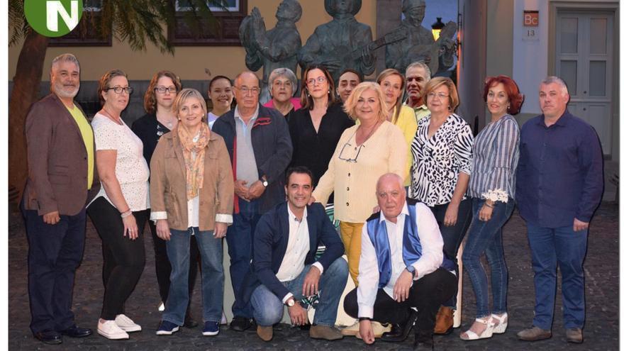 Candidatura de NC al Ayuntamiento de Santa Cruz de La Palma.