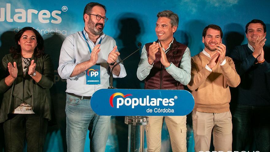 El PP de Córdoba celebra los dos diputados conseguidos este 10N   MADERO CUBERO