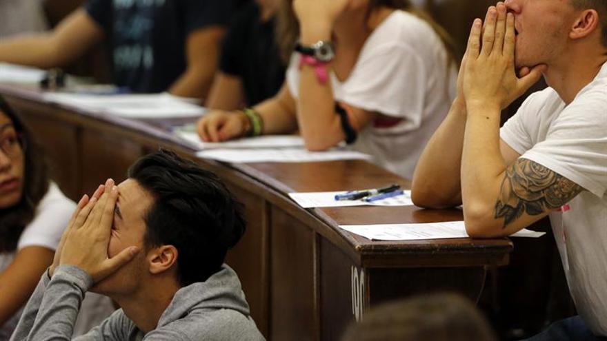 Más becarios en los estudios de máster y menos en los de grado