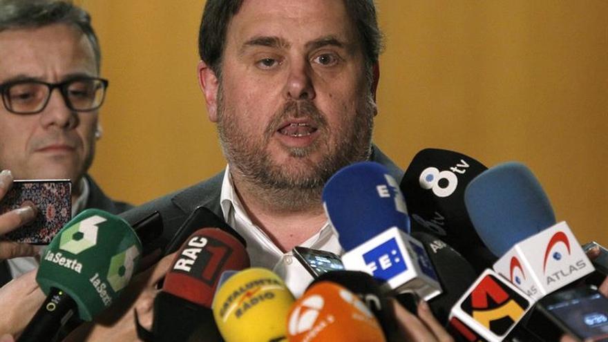 Junqueras admite contactos con Santamaría y prevé que se reúnan en enero