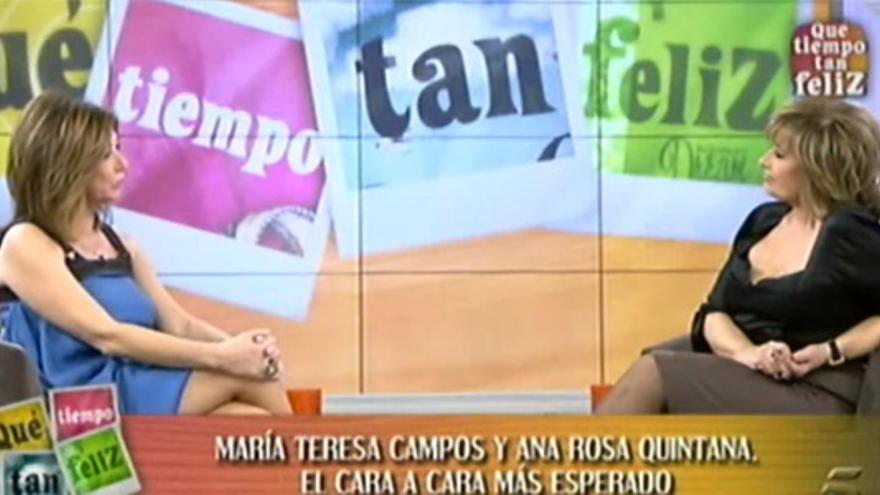 """""""No firmé con Telecinco hasta que tú lo hiciste con Antena 3"""""""