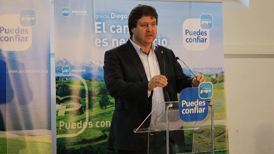 Gastón Gómez (PP), alcalde de Santa María de Cayón.