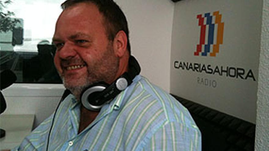 Fernando Bañolas, en CANARIAS AHORA RADIO. (CANARIAS AHORA)