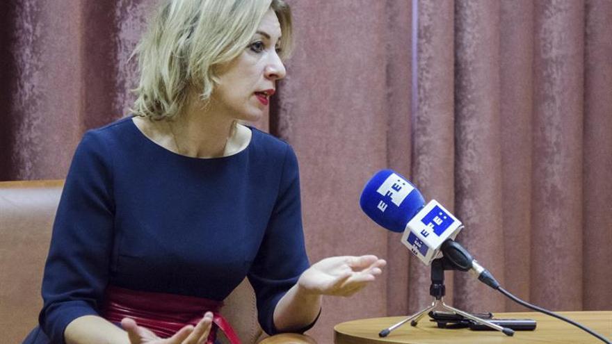 Zajárova: la victoria de Trump no ha sido ninguna sorpresa para Rusia