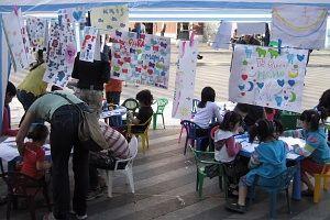 Actividades infantiles de ALPE en 2008