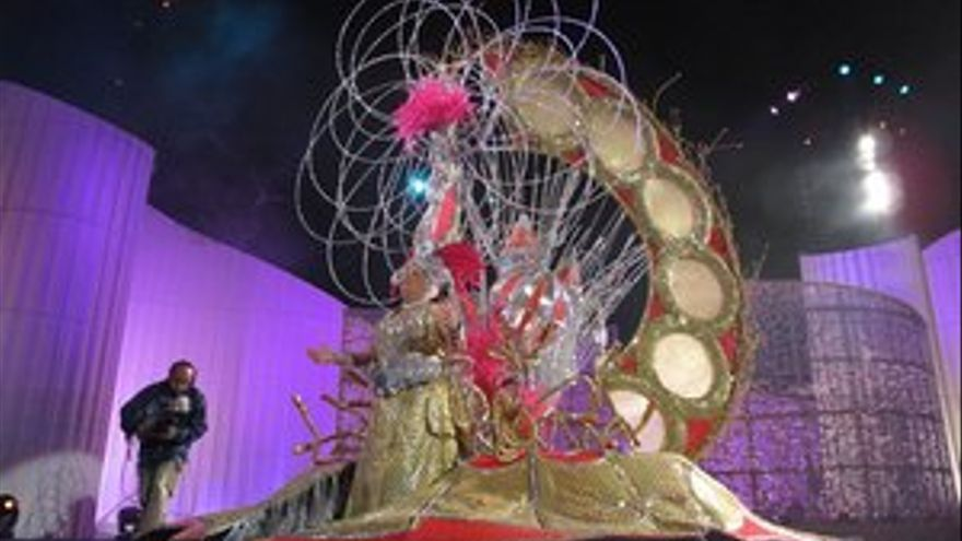Lucía González, Gran Dama del Carnaval de LPGC. (ACFI PRESS)