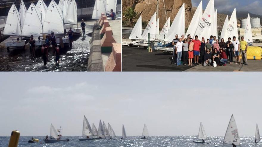 Varias imágenes de la jornada del Campeonato Insular de Vela celebrada el pasado domingo, 12 de noviembre.