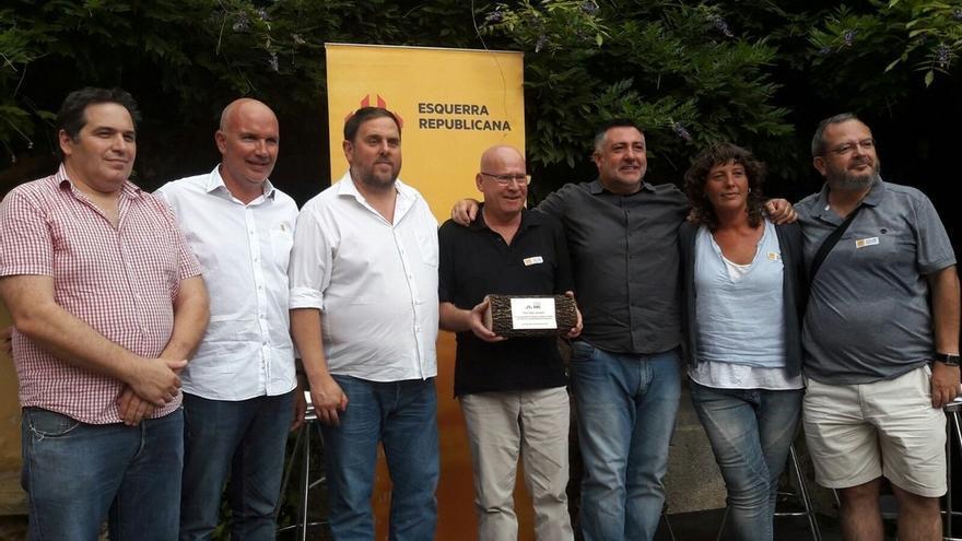 """Junqueras pide que el Govern esté """"a la altura que le toca"""" ante el proceso independentista"""