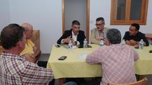 Momento de la reunión celebrada este viernes en la isla de Lanzarote