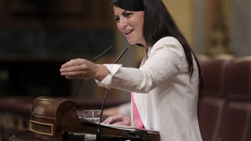 La secretaria general del Grupo Parlamentario Vox en el Congreso, Macarena Olona