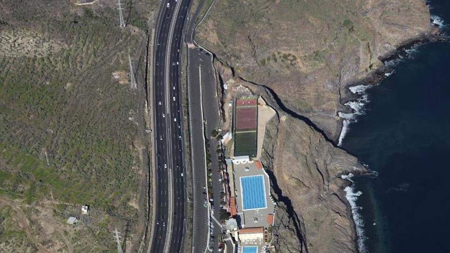 Panorámica de las instalaciones del Círculo en Barranco Hondo.