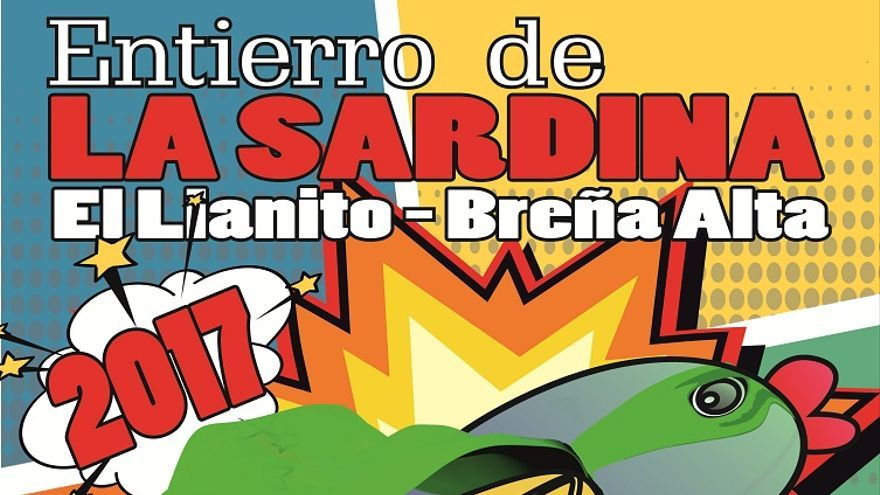 Cartel de la Sardina de El Llanito.