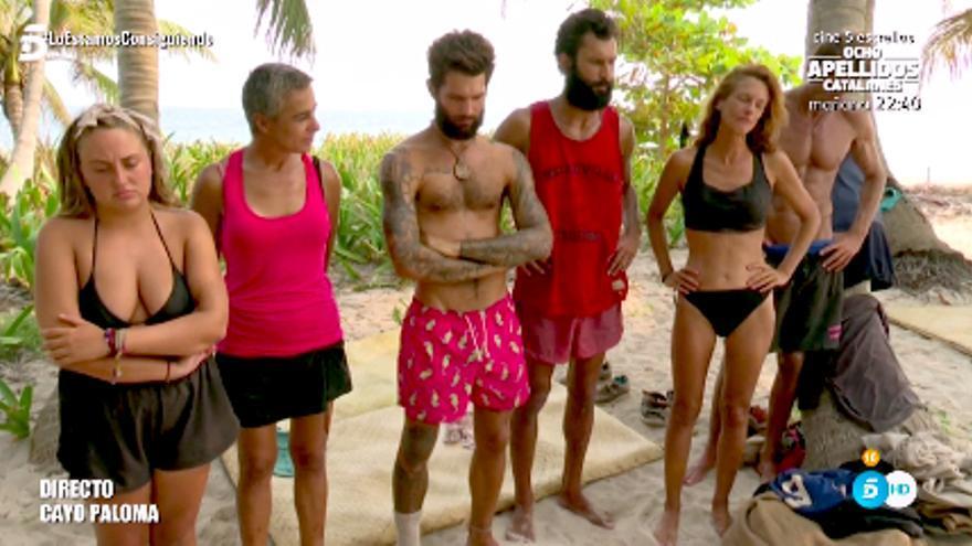 Los 'Supervivientes', cansados del concurso