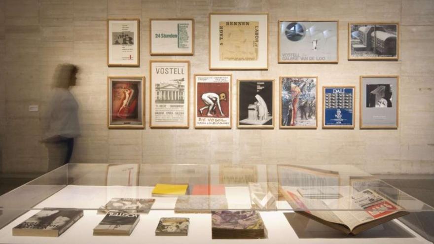 La muestra de Wolf Vostell Vida=Arte=Vida puede visitarse en el Museo de Arte Contemporáneo de Castilla y León (MUSAC) de la capital leonesa