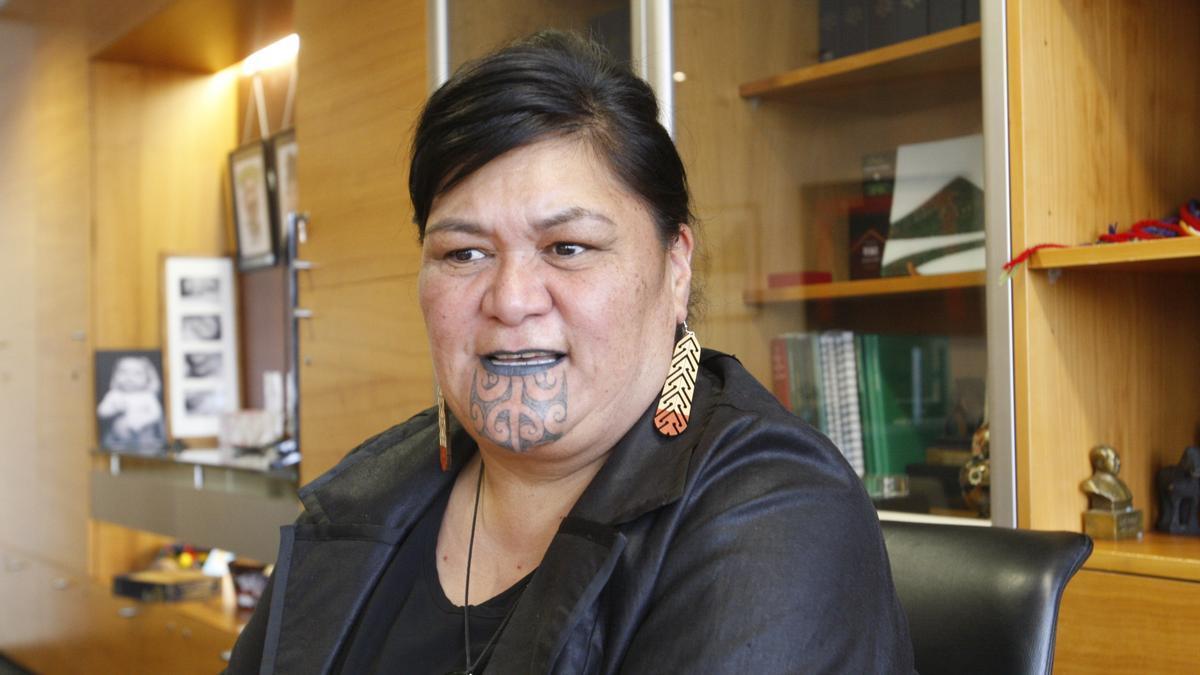 La ministra de Exteriores de Nueva Zelanda, Nanaia Mahuta.