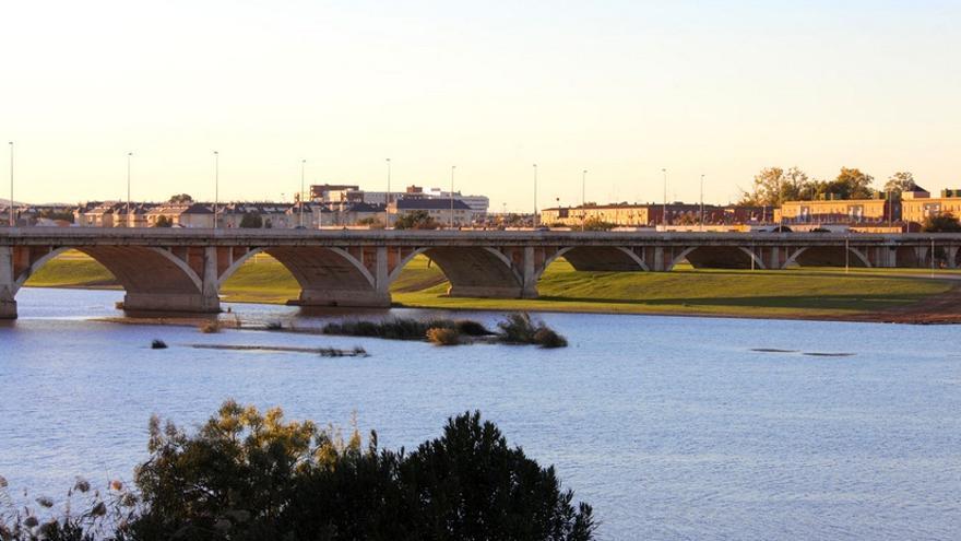 Río Guadiana a su paso por Badajoz / Turismo Extremadura