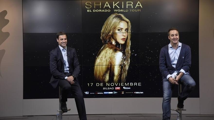 Shakira ofrecerá su primera actuación en el Estado de su gira 'El Dorado' el 17 de noviembre en el BEC de Barakaldo