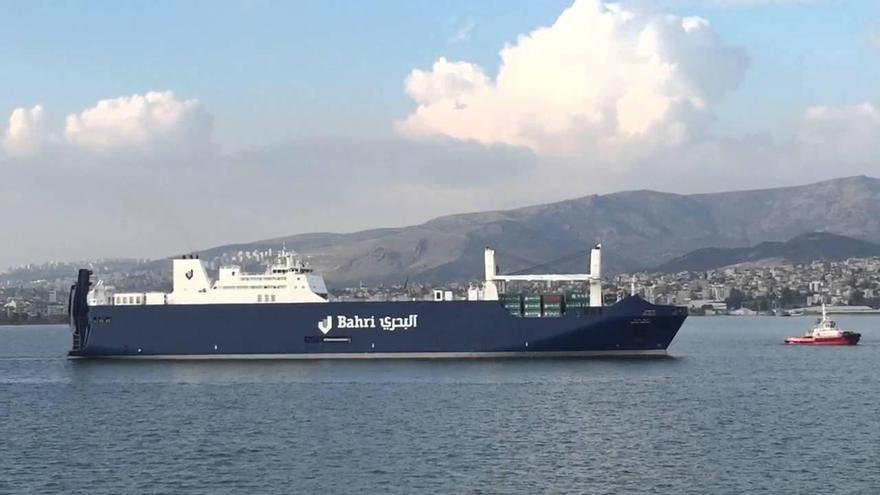 Imagen de archivo de uno de los buques saudíes que ha atracado en Santander en los últimos meses.. | izmirportwatch