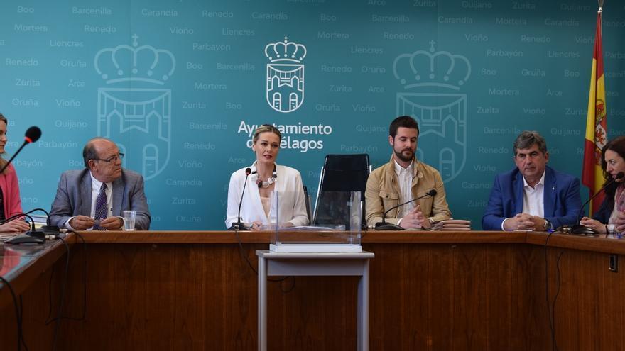 Verónica Samperio, reelegida alcaldesa en virtud del pacto PSOE-PRC-AVIP