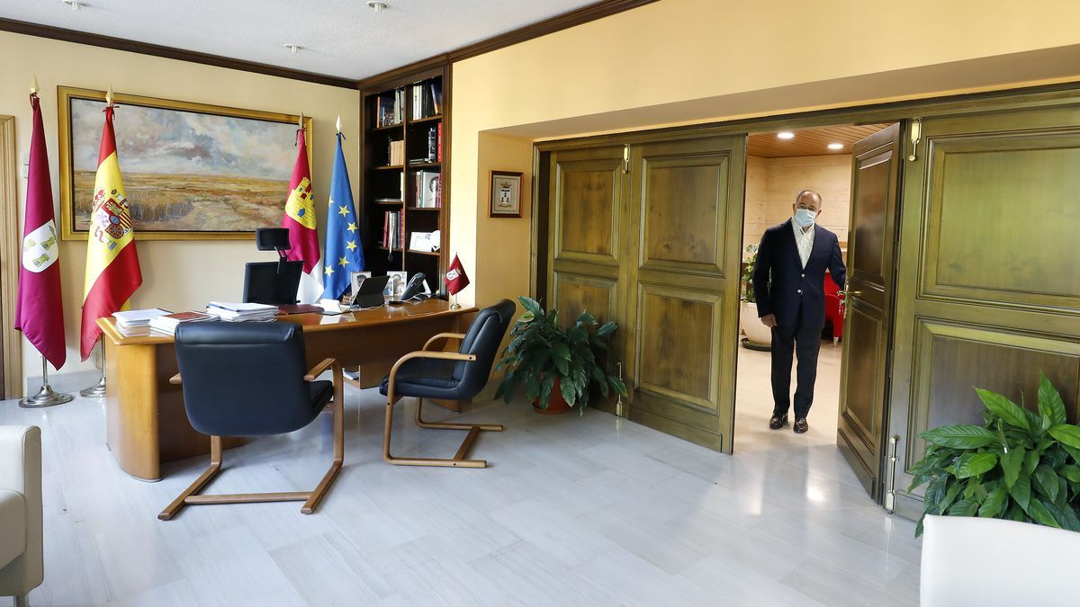 El alcalde de Albacete, Emilio Sáez