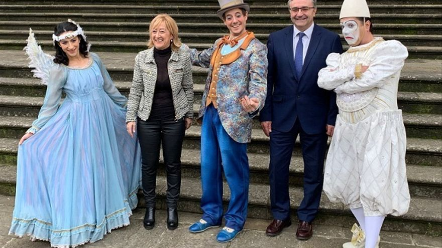 Cirque du Soleil actuará esta semana en Vitoria con el espectáculo internacional 'Corteo'