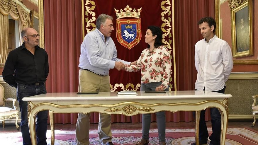 El Ayuntamiento de Pamplona firma un convenio con la Plataforma  Passivhaus para una construcción eficiente