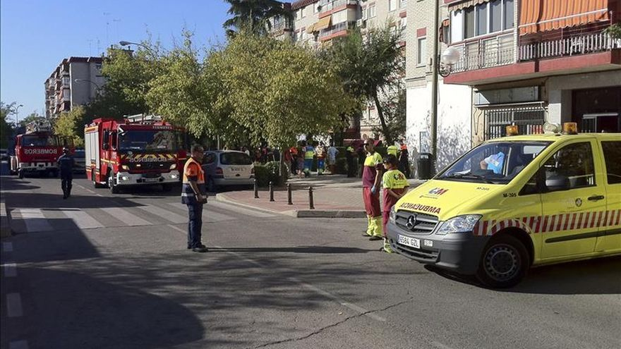 Fallece un hombre de 40 años en un incendio en su domicilio en Móstoles