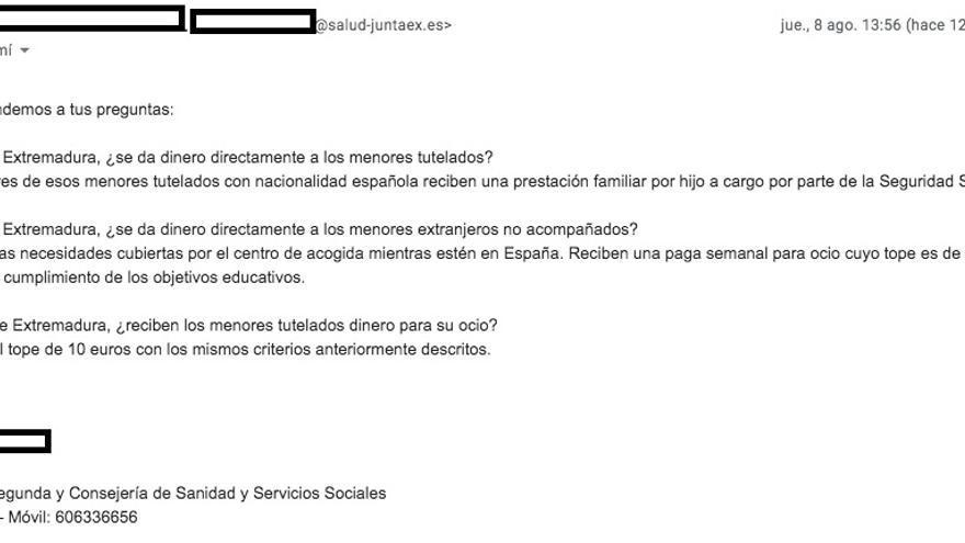 En Extremadura los menores tampoco reciben 664 euros