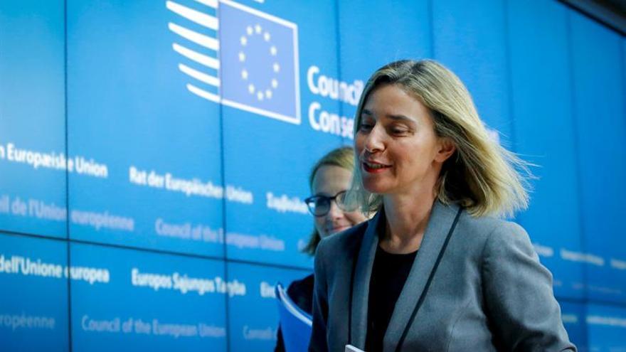 Mogherini y Almagro analizan la situación de América Latina y el Caribe