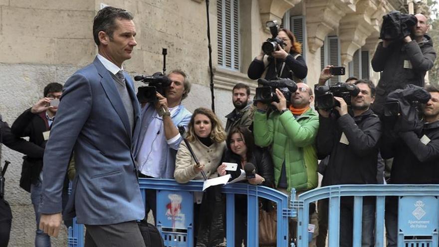 El Supremo revisará el 21 de marzo el recurso de Urdangarín contra su condena