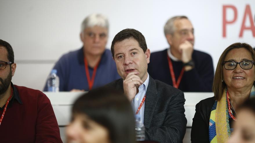 """García-Page admite que """"quizás"""" hoy es más probable que haya nuevas elecciones que investir presidente a Pedro Sánchez"""