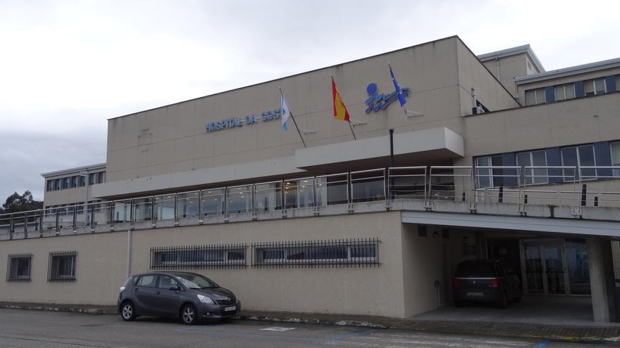 Hospital da Mariña, en Burela (Lugo)