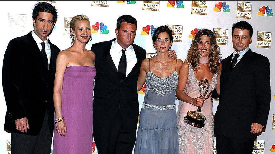 El reparto de 'Friends' en la 52 edición de los Emmy