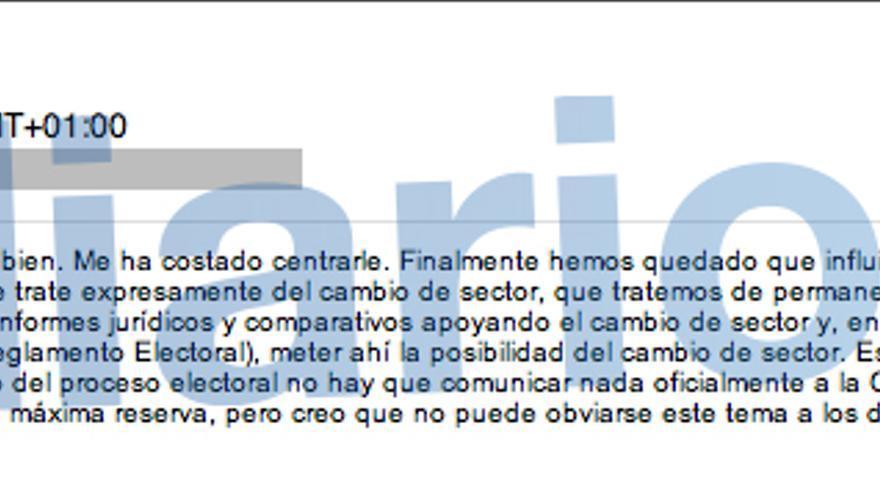 Enrique de la Torre escribe a Miguel Blesa