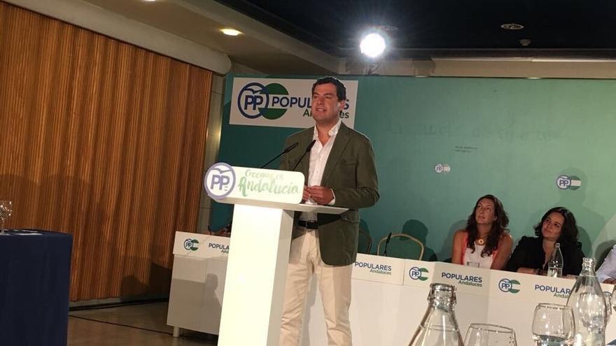 Moreno renunciará a su acta de senador para dedicarse a su candidatura a la Junta de Andalucía