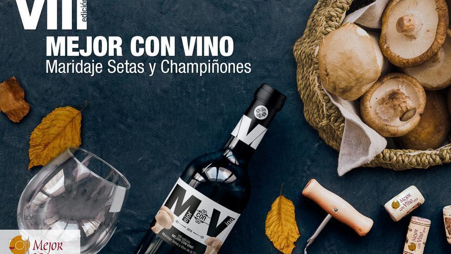 'Mejor con Vino'...y con champiñones, este año en La Roda