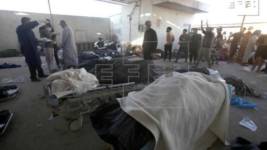 El Gobierno iraquí rebaja los muertos en el incendio de un hospital de covid a 60