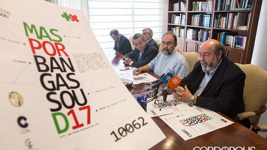 Presentación de la campaña 'Más por Bangassou'   MADERO CUBERO