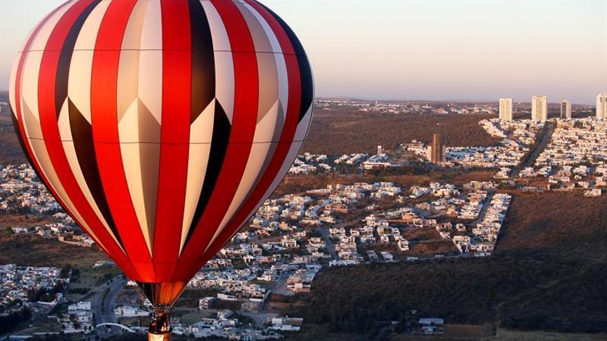 El cielo de México se pinta de colores con el Festival de Globos de León