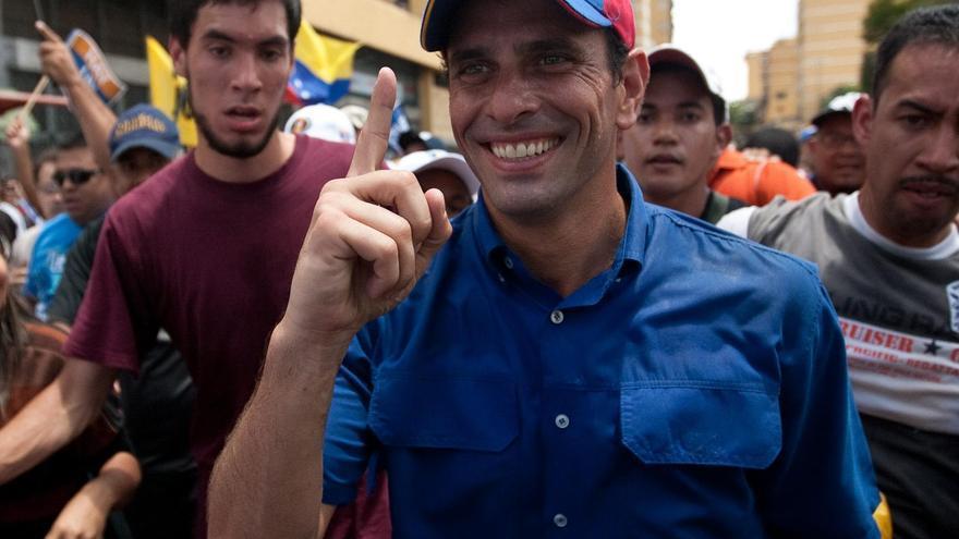 """Capriles pide a los venezolanos no caer en """"rumores ni odios"""""""