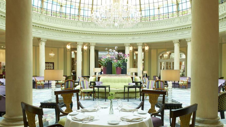 La Rotonda del Palace Hotel, en Madrid / Galería de fotos del Palace Hotel