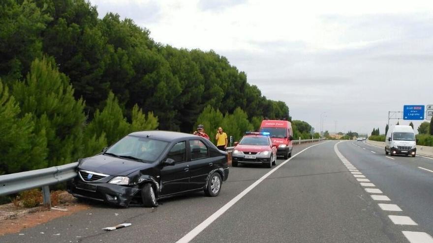 Octubre concluye sin que se registren víctimas mortales en accidentes de tráfico en Navarra