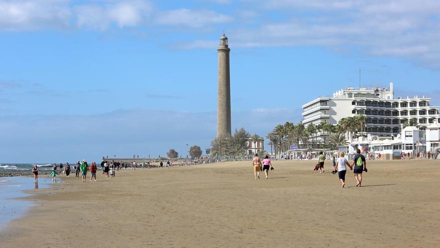 (IMAGEN DE ARCHIVO) Playa de Maspalomas.