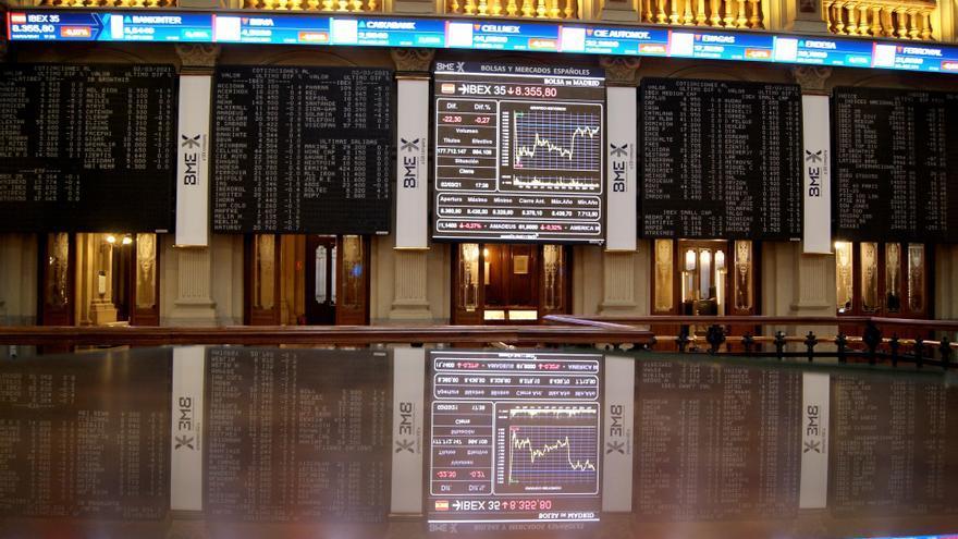 La Bolsa española supera los 8.400 puntos tras subir el 0,95 %